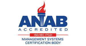 ANAB Accredited ISO / IEC 17021 Management Systems Certification Body Logo