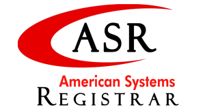 ASR American Systems Registrar Logo